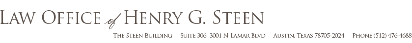 steen law firm austin