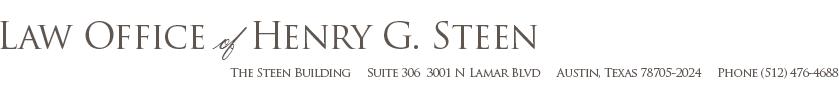 steen law firm austin